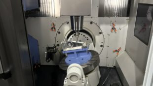 New Doosan DVF 5000 H – 5 axis machining centre