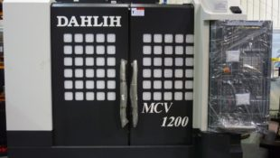 In Stock Dah Lih MCV-1200BA CNC Vertical Machining Centre