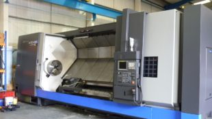 In Stock Hwacheon Hi-TECH 850LMC Big Long Bed CNC Turning Centre with Driven Tools