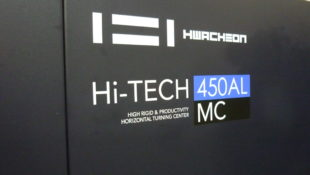 In Stock Hwacheon Hi-TECH 450AMC CNC Long Bed Lathe with Driven Tools