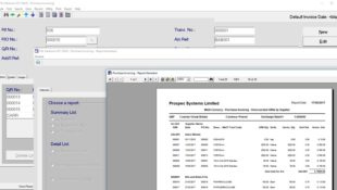 PSL Datatrack – Financial – Purchase Invoicing – Production Control Software
