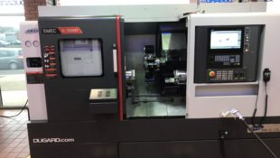 SMEC 2500SY for sub spindle machining in stock