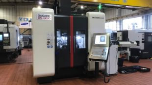 New Dugard X5-800 5 axis machine for sale