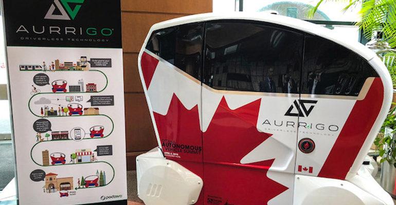 Aurrigo drives into Canada as it expands international network