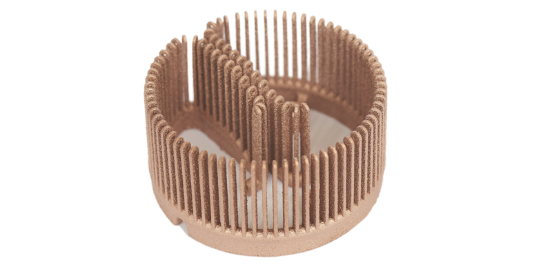 Protolabs Launches Copper 3D Printing Service – Making Impossible Geometries Possible