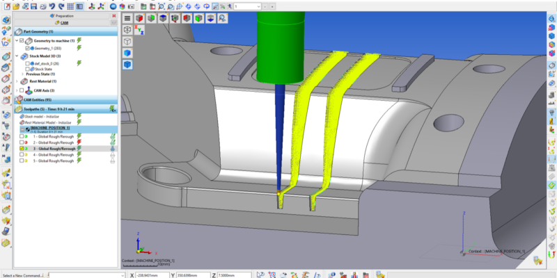 Improved Machining Productivity for WORKNC Customers