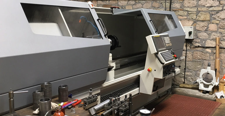 Fairbrother and Grimshaw make light work of heavyweight applications with Harrison Alpha CNC lathe