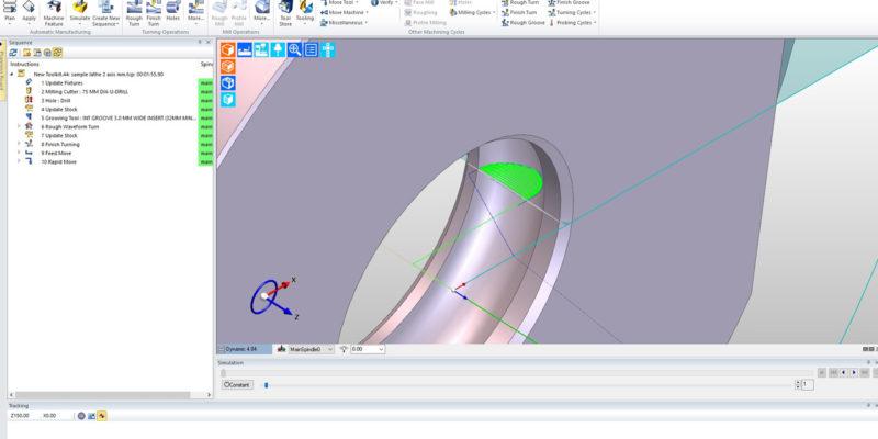 """EDGECAM Waveform """"Massive"""" for I & G Engineering"""