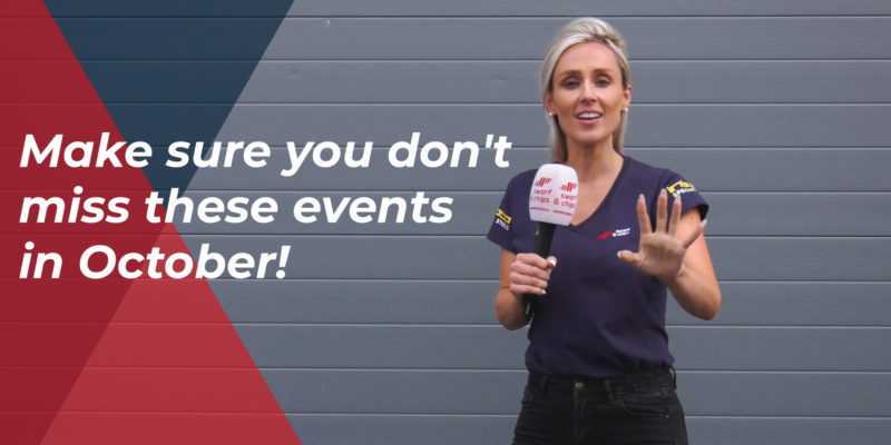 #SwarfandChips – Make sure you don't miss these events in October! – 06/09/2019 – Ep 143
