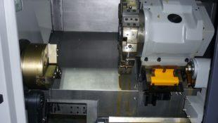 In Stock Hwacheon Hi-TECH 200BL Long Bed CNC Lathe