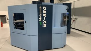 New MX 850 5 axis machine with 4PC pallet solution