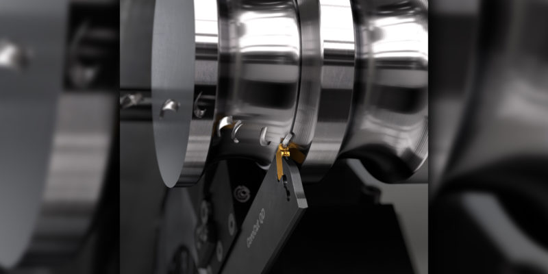 Round inserts promote better profiling with long overhangs in narrow grooves