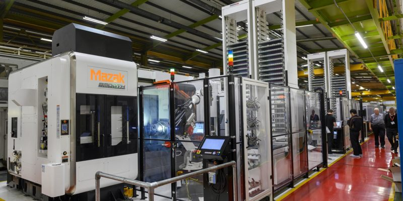 Mazak makes major investments in UK factory