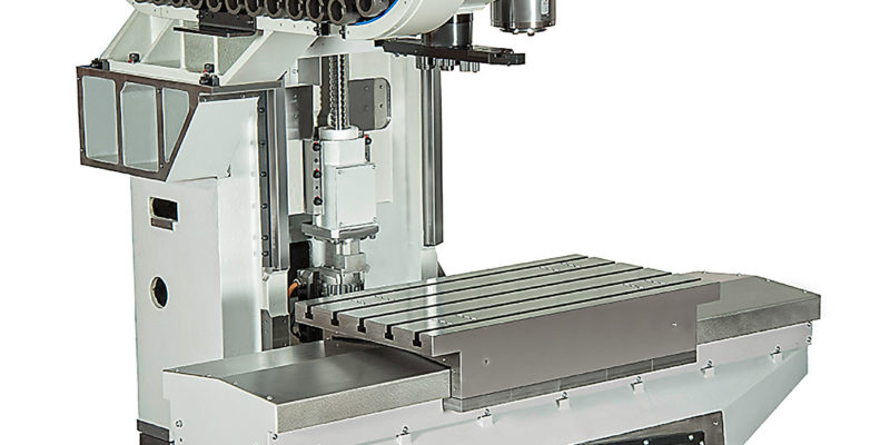Machining Centre Is Both Compact And Ergonomic