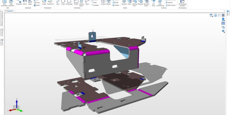 Designer – a Specialist Sheet Metal CAD for CAM – Launches with new RADAN