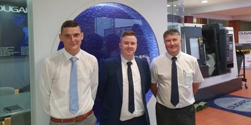 Dugard appoint sales trio