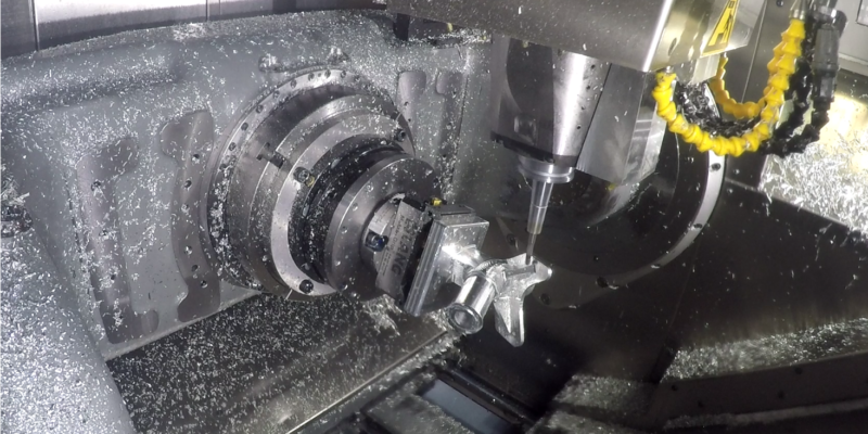 An Easy Take Off with Tebis CAD/CAM 5-axis Adaptive Roughing and Advanced Complex Surface Machining