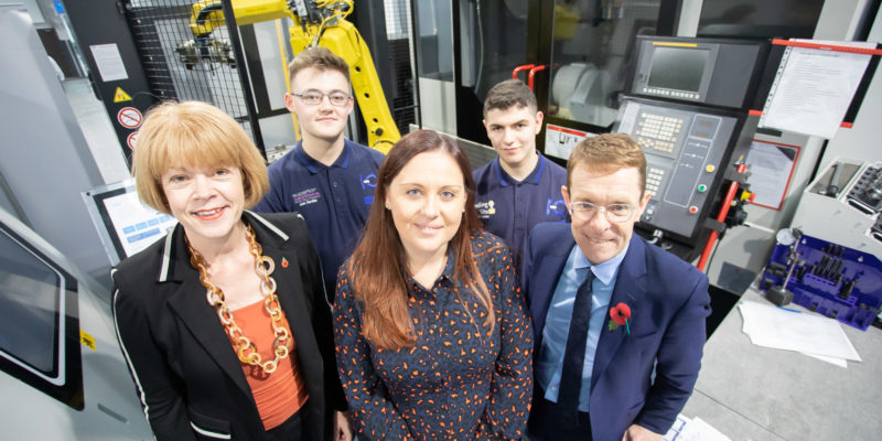 Mayor pledges renewed support for apprentices after In-Comm Training visit