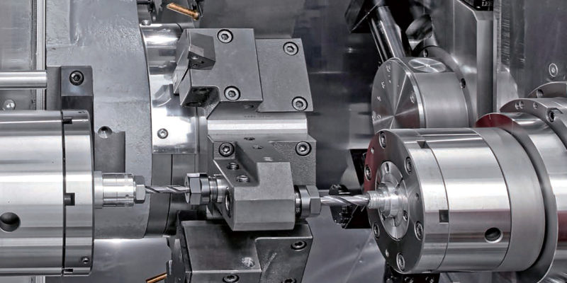 Chance purchase of a second-hand lathe triggers transformation of subcontractor's machine shop