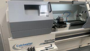 EX DEMO Harrison 1550XS lathe for sale