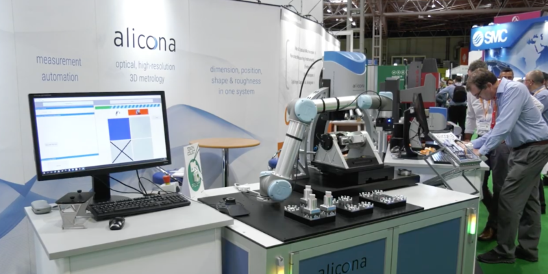 Automated Metrology – Bruker Alicona paves the way at the Advanced Engineering Show