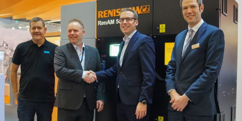 Sandvik and Renishaw collaborate to qualify new AM materials