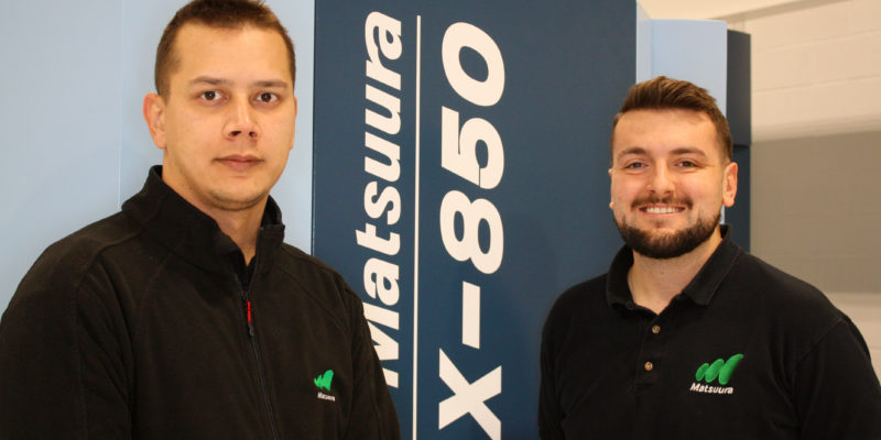 New Appointments Strengthen Matsuura Spindle Team