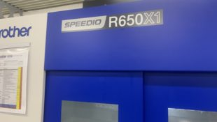 Brother RX650X1 high speed twin pallet VMC