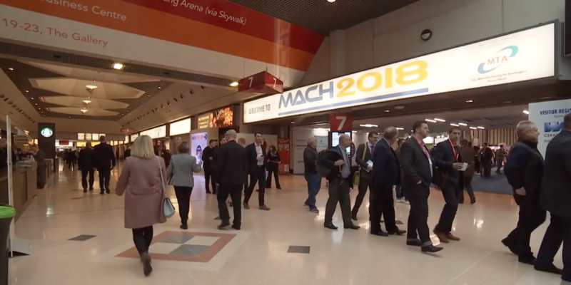 Last weeks MACH 2020 press conference with the MTA
