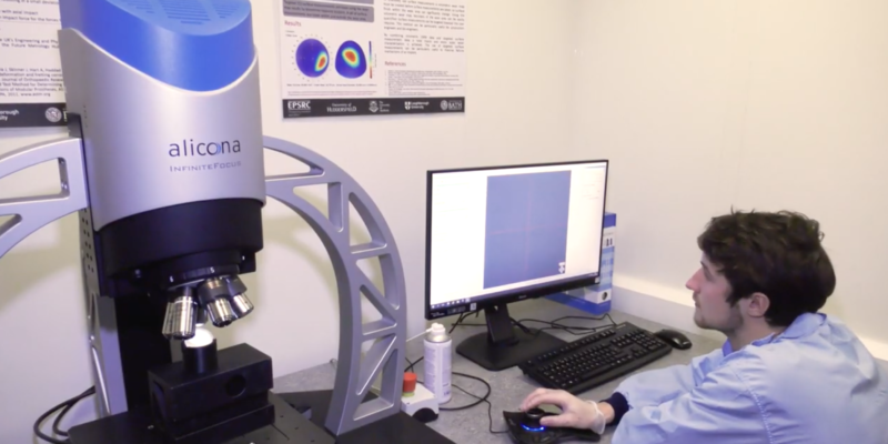 Future Metrology Hub uses Alicona to work in Industry
