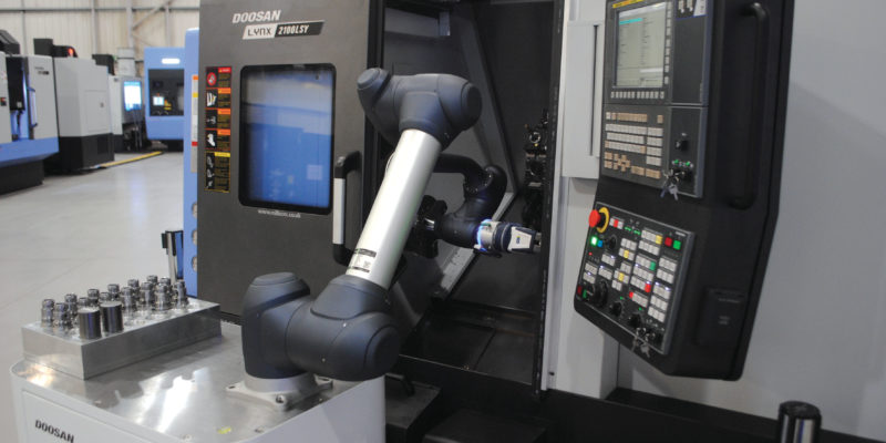 Cobot technology takes centre stage