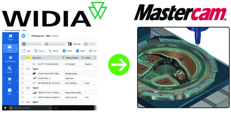 WIDIA Announce New Fast and Simple Tooling Data Solution
