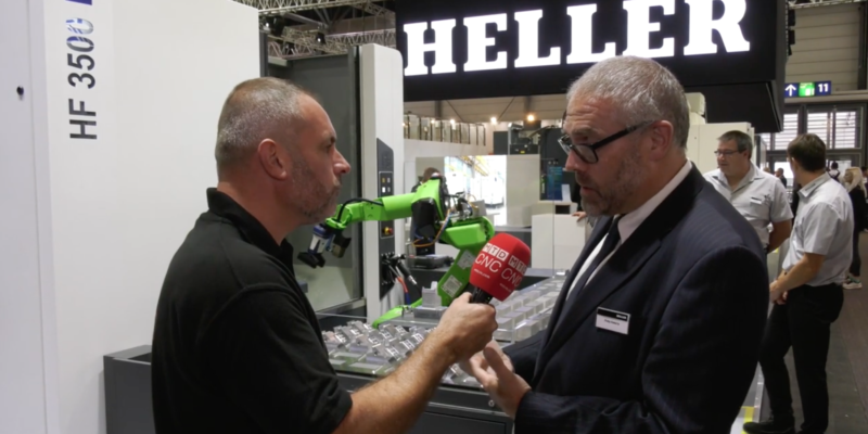 Heller offers the complete machining solution with automation