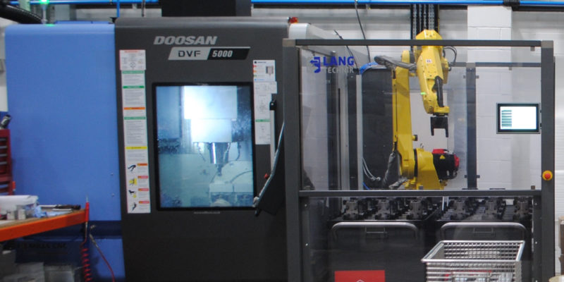 Automation-ready high-performance Doosan 5-axis at Qualimill