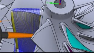 SolidCAM's Powerful 5 Axis Simultaneous Milling