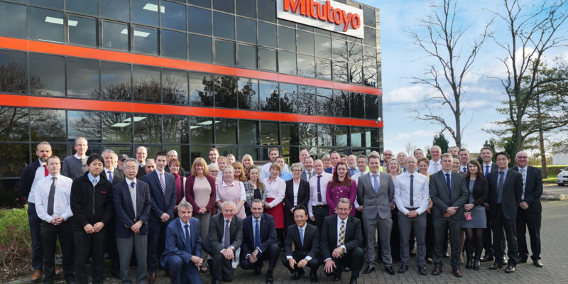 Mitutoyo celebrates 40th anniversary in the UK