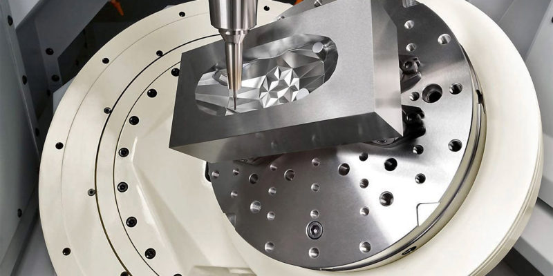 NEW HIGH-SPEED, 5-AXIS MACHINING CENTRE from NCMT