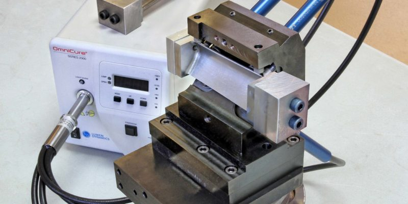 Blue Photon Adhesive Workholding From NCMT