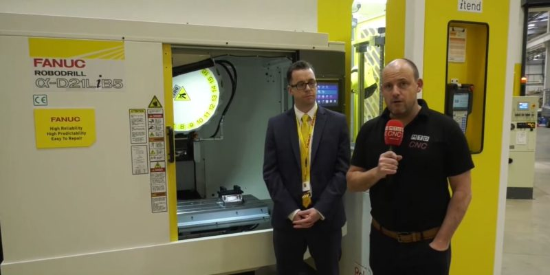 Anthony Biggs joins FANUC UK