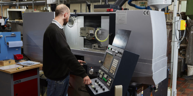 Okamoto CNC grinder makes an impact at CoorsTek