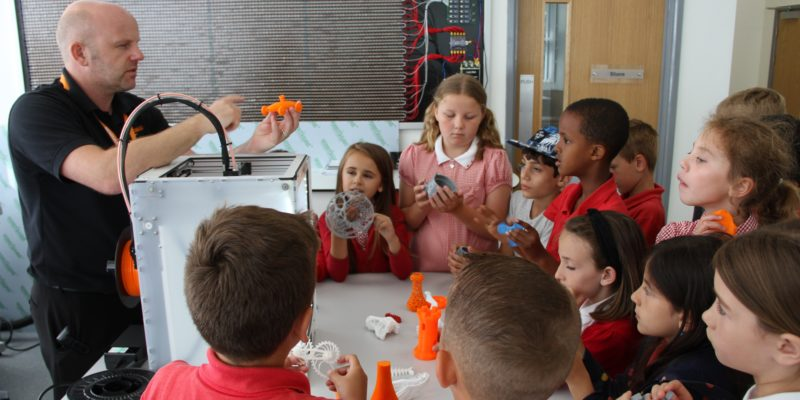 Renishaw loans 30 schools 3D printers for a second year