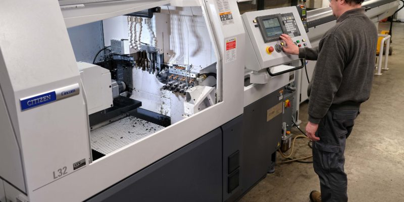 Plastics Machining Specialists Invest In Sliding-Head Lathe With Novel Chipbreaking Software