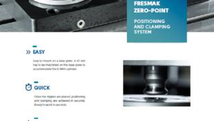 Fresmak 0-MAK ZERO POINT CLAMPING
