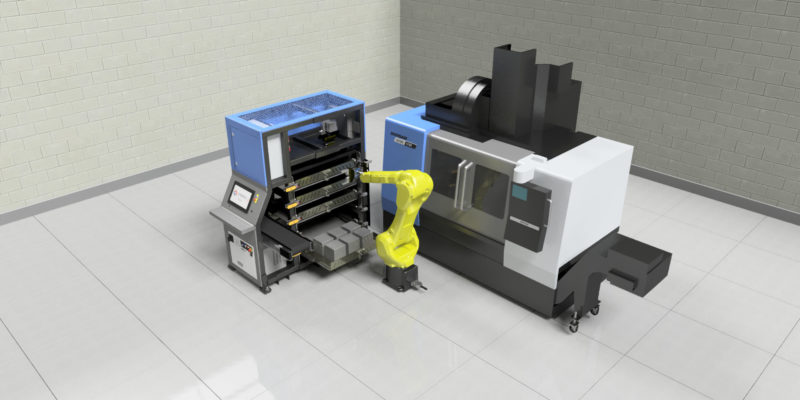SYNERGi 25 – easy to use and simple to operate automated manufacturing cells from Mills CNC Automation