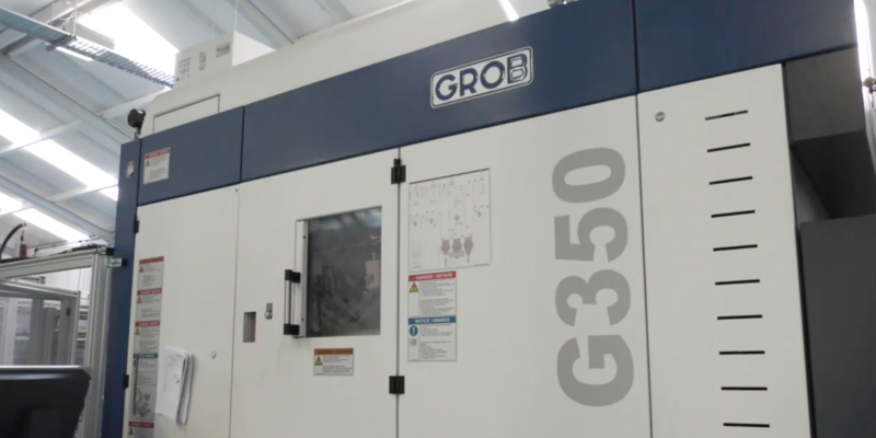 DPF Engineering choose GROB to be their machine tool partner