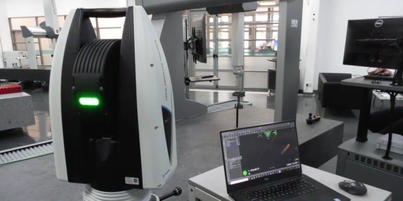 Meet the ATS600; the laser tracker with Reflectorless Capabilities