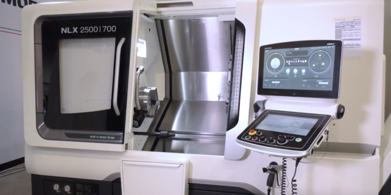 Why is DMG MORI's NLX 2500 their best selling machine?
