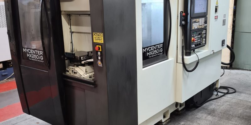 Horizontal Machining Centres Help Manufacturer Ventilators