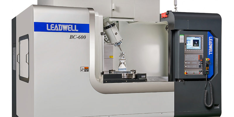 NEW 5-AXIS MACHINING CENTRE FROM TAIWAN