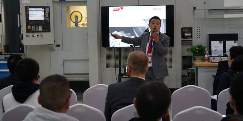 Starrag China's new Shanghai technical centre enables customers to 'Engineering precisely what you value'